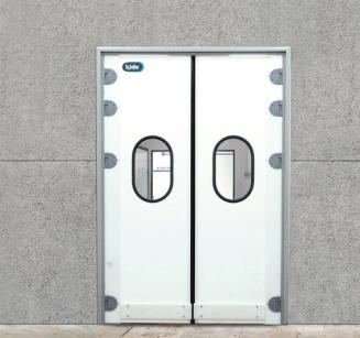 Semi-insulated doors