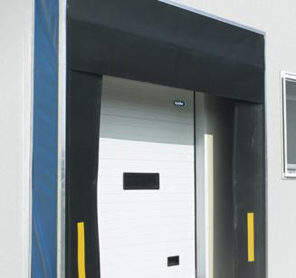 Logistic doors