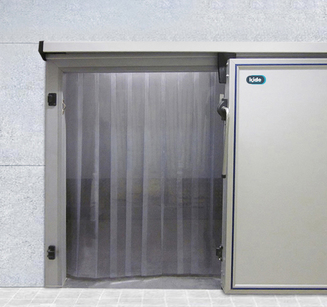 Semi-insulated doors