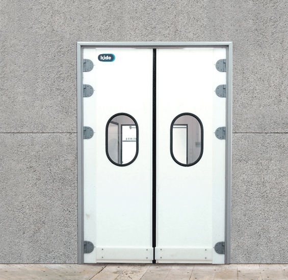 Puerta frigor fica vaiv n polietileno v15 kide for Puertas vaiven para cocina