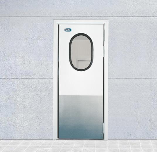 Puerta frigor fica semiaislada de vaiv n inyectada v40 kide for Puertas vaiven para cocina